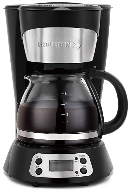 Amazon.com: Holstein Houswares hh-09101009b 5 Copa Cafetera ...
