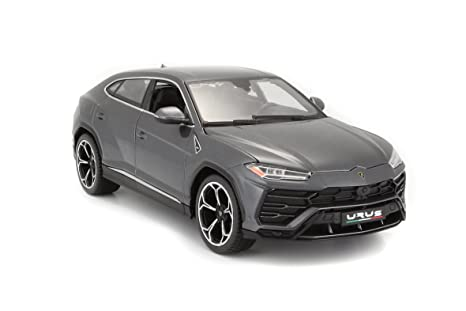 Amazon Com Lamborghini Urus Grey 1 18 Diecast Model Car By Bburago