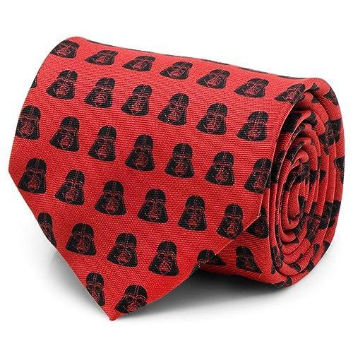 Cufflinks Inc Star Wars Darth Vader corbata roja y negra: Amazon ...