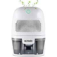 Aidodo Deshumidificador electrico Portátil 600ml Mini silencioso Deshumidificadores de Aire Compacto Inteligente Hogar…