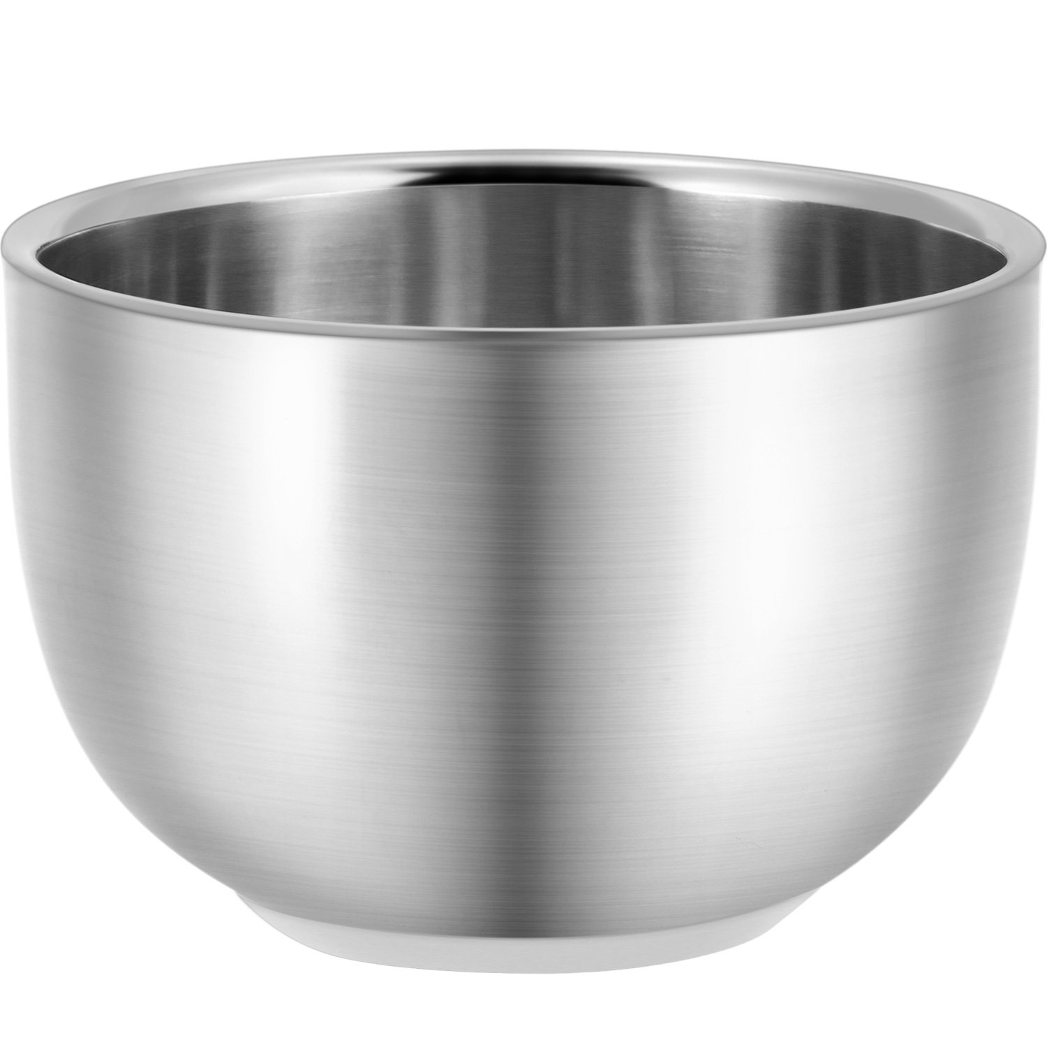 Blulu 2.1 Inch Stainless Steel Shaving Bowl Soap Cups, Durable Unbreakable Hair Shave Mugs for Shaving Soap and Cream