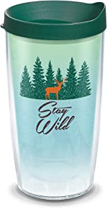 Tervis Stay Wild Insulated Tumbler, 16oz, Clear - Tritan