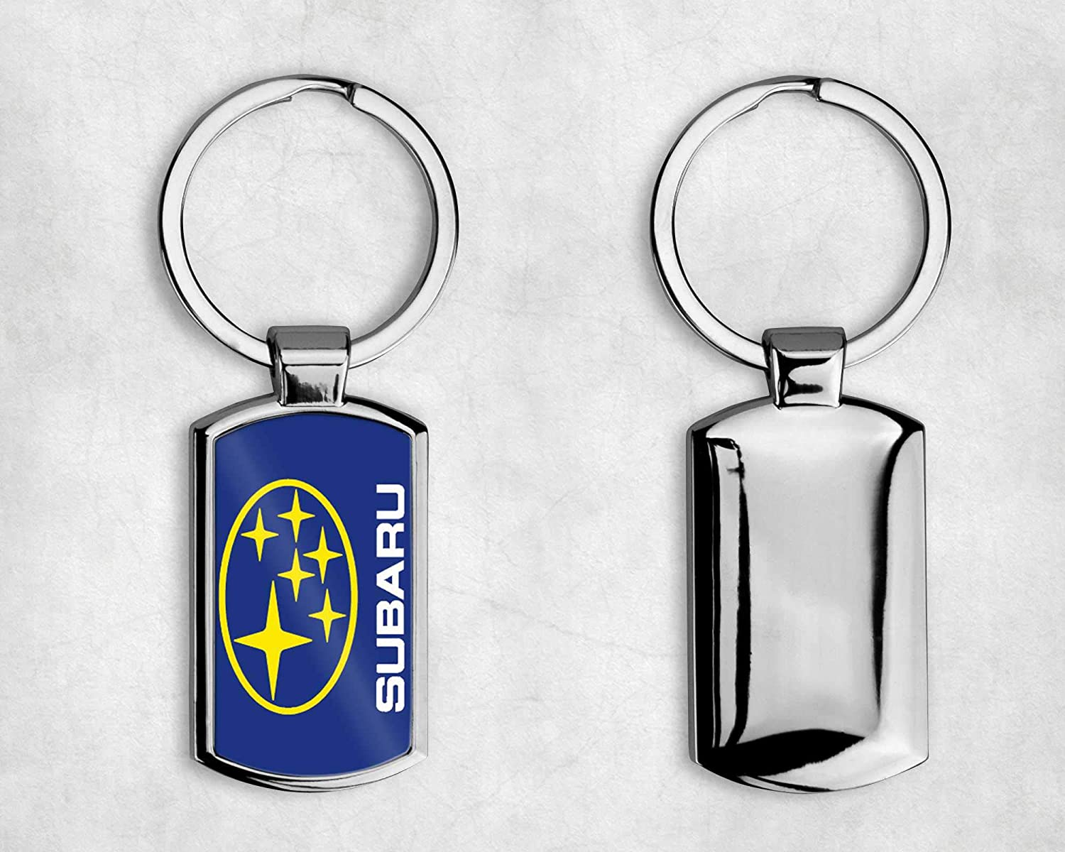 T20 DESIGNS SUBARU CAR LOGO METAL KEYRING SUBARU WRX Complete with Gift Box Choice of Design -A002