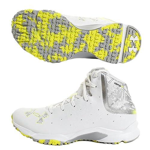 0bfe690db393 Under Armour Men's UA Banshee Mid Lacrosse Turf Shoes 9 M US White:  Amazon.ca: Shoes & Handbags