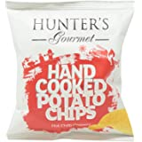Hunter's Gourmet Hand Cooked Potato Chips Hot Chilli Peppers - 40 gm