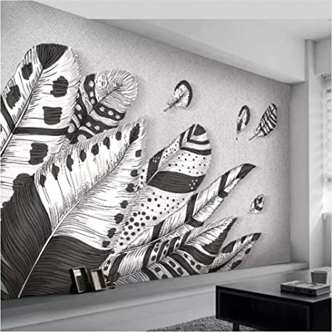 Amazon Com Hwhz Custom 3d Wall Mural Wallpaper Abstract