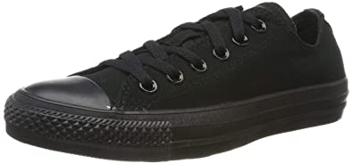 best website 48692 a476a Converse M5039, Chaussures de Fitness Mixte Enfant, Noir (Black  Monochrome), 35