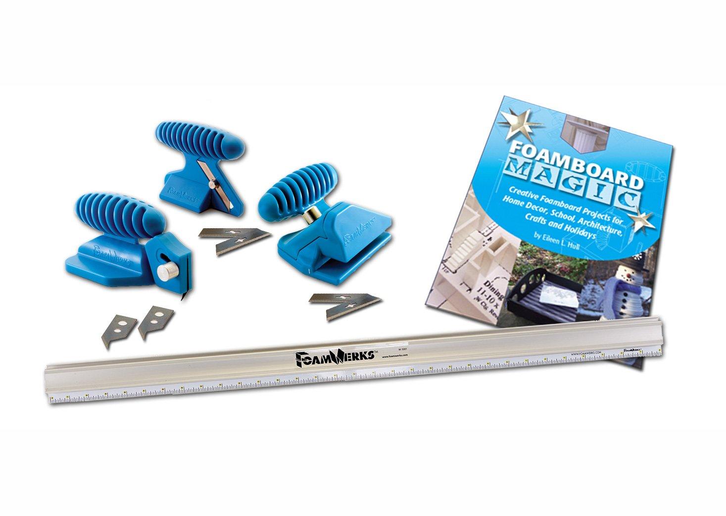 Logan Graphics FoamWerks Foamboard Cutting Kit-W1001-For Cutting All Foamboard