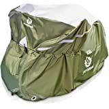 YardStash Bicycle Cover XXL for 2-3 Bikes and Trikes: Cover for 3 Bikes, Trike Cover, Beach Cruiser Cover, 29er Bike Cover, Electric Bike Cover & Cover for Bikes w/Baskets or Racks