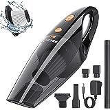 LOFTEK Car Vacuum Cordless - Handheld Portable Car Vacuum Cleaner with High Power Professional Vacuum for Car - Wet&Dry…