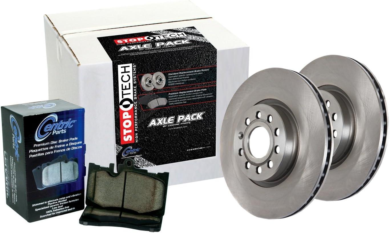 StopTech 908.66516 Rear Brake Kit Select Pack
