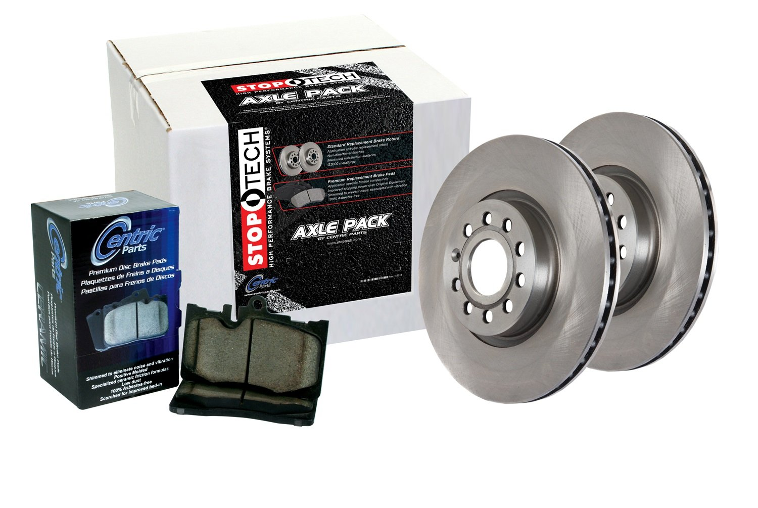 StopTech 908.40027 Front Brake Kit Select Pack