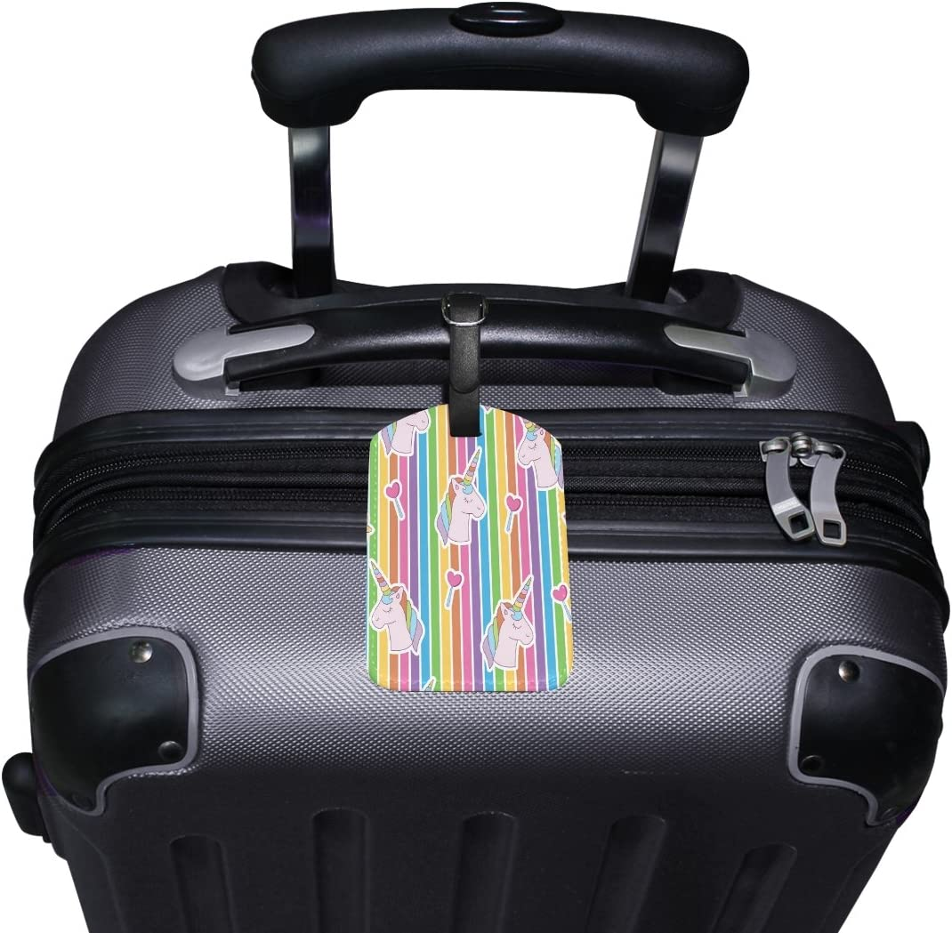 Saobao Travel Luggage Tag Human Head With Tree PU Leather Baggage Suitcase Travel ID Bag Tag 1Pcs