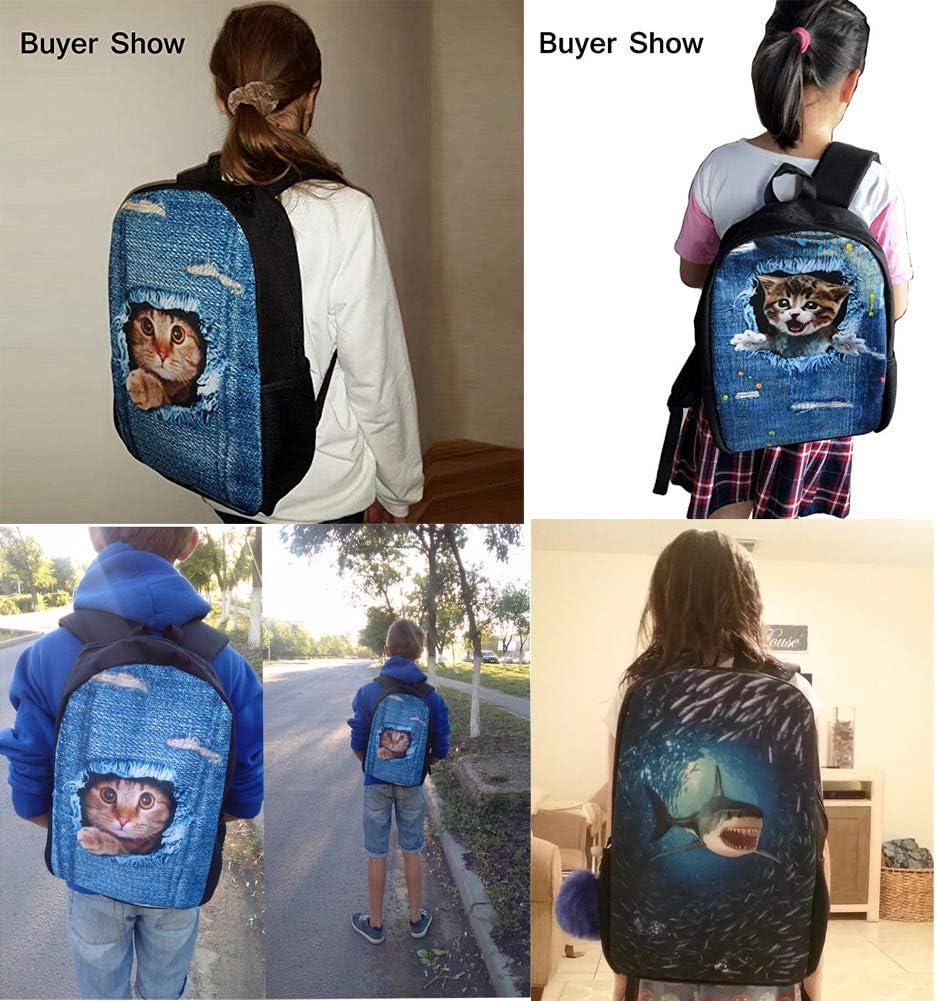 Dzulife Kids Backpack Galaxy Wolf Lightweight Travel Sport School Bag Pack Purple Bookbags Girls Teens