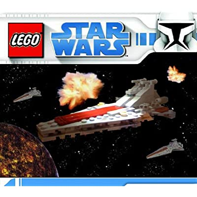 Lego Star Wars BrickMaster Exclusive Limited Edition Mini Building Set #20007 Republic Star Destroyer (Bagged): Toys & Games