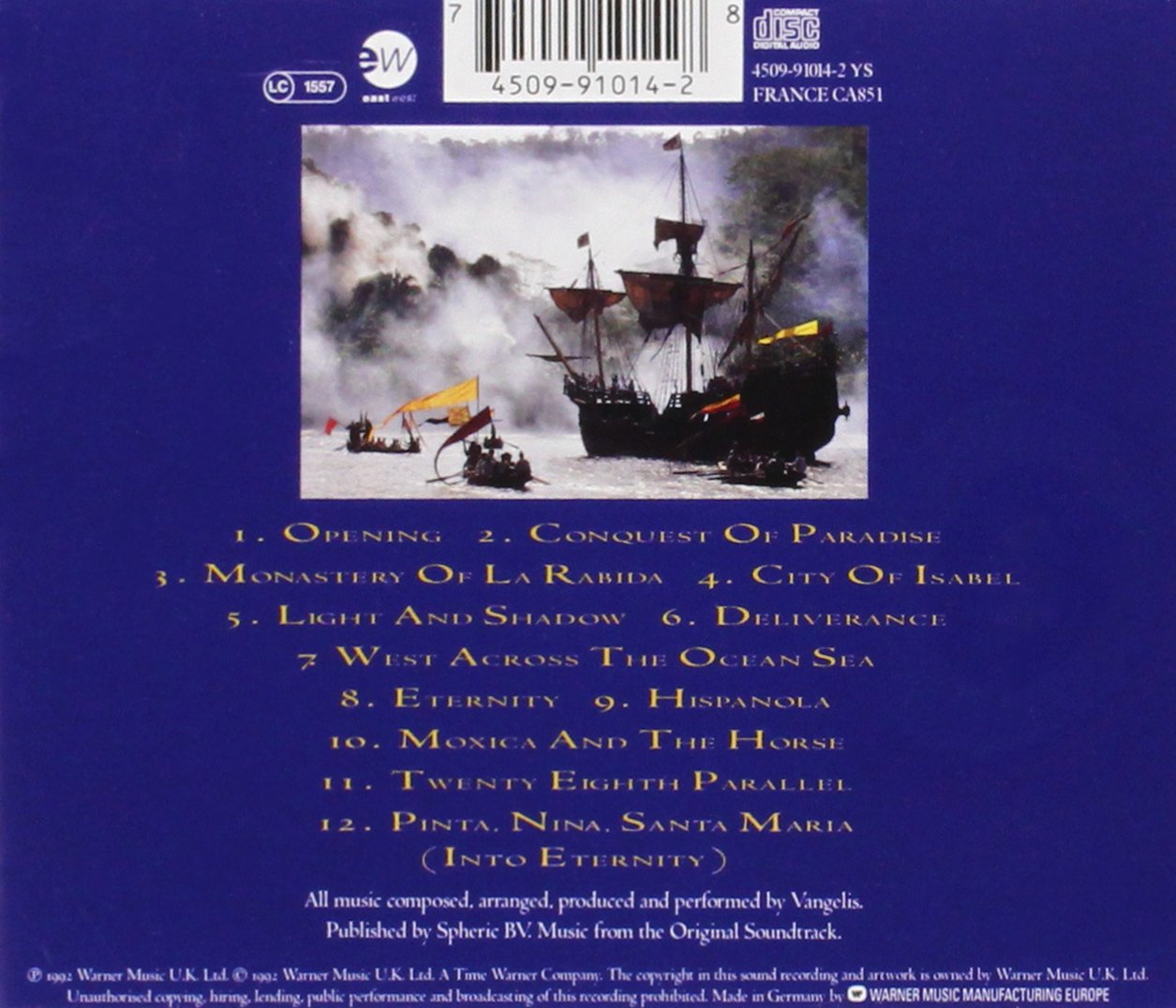 conquest of paradise mp3 download