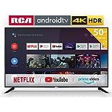 Televisiones Smart TV 50 Pulgadas 4K Android 9.0 y HBBTV, 1500 PCI Hz UHD HDR, 3X HDMI, 2X USB. DVB-T2/C/S2, Modo Hotel - Televisores TD Systems K50DLJ11US: Amazon.es: Electrónica