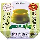 遠藤製餡 低糖質ようかん 抹茶 90g×6個