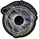 EC006 – South Carolina - Great American Eclipse 2017 Sticker