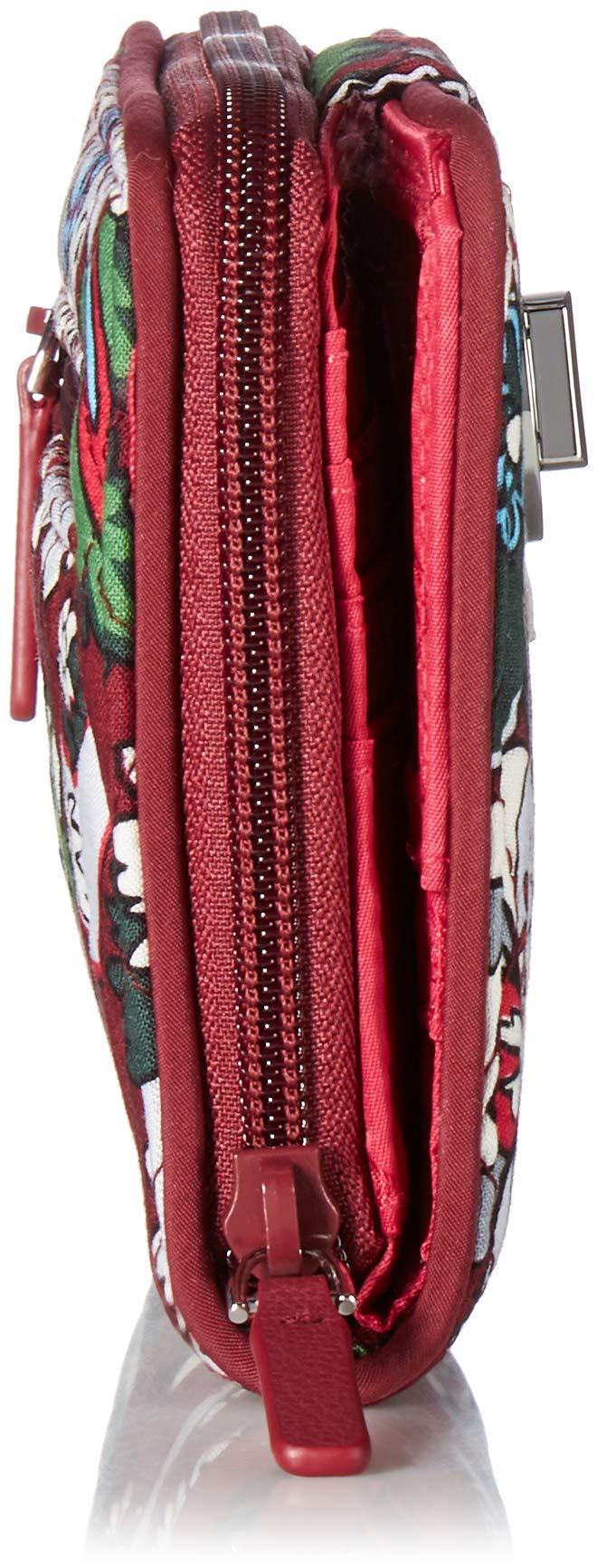 Vera Bradley RFID Turnlock Wallet,  Signature Cotton, One Size by Vera Bradley (Image #4)