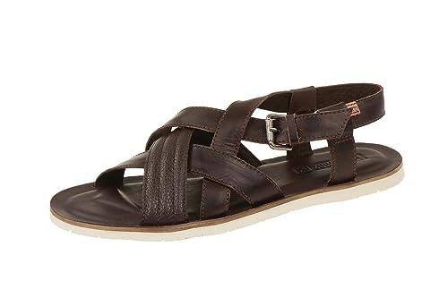 065109a417a color marrón Pikolinos M6g0048 Olmo Sandalias de vestir de Piel Lisa ...