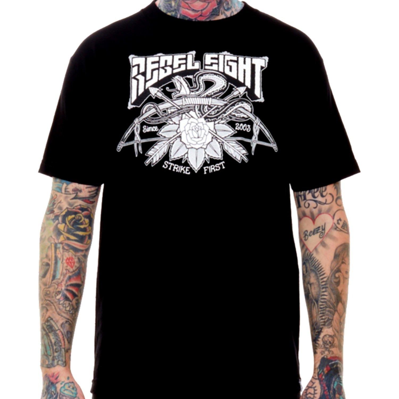 Rebel8 Strike First T-Shirt - Black