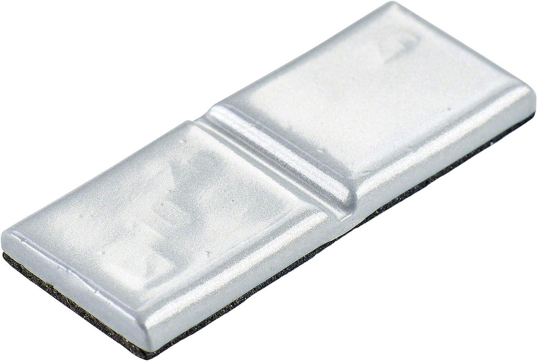 Hofmann Power Weight Typ361 5361 0100 201 100x Klebegewicht Alufelgen 10g Wuchtgewicht Klebegewicht Leichtmetallfelgen Auto
