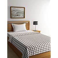 Pluchi Knitted Twin Bed Throw Blanket 152x229cm 100% Cotton 60x90''