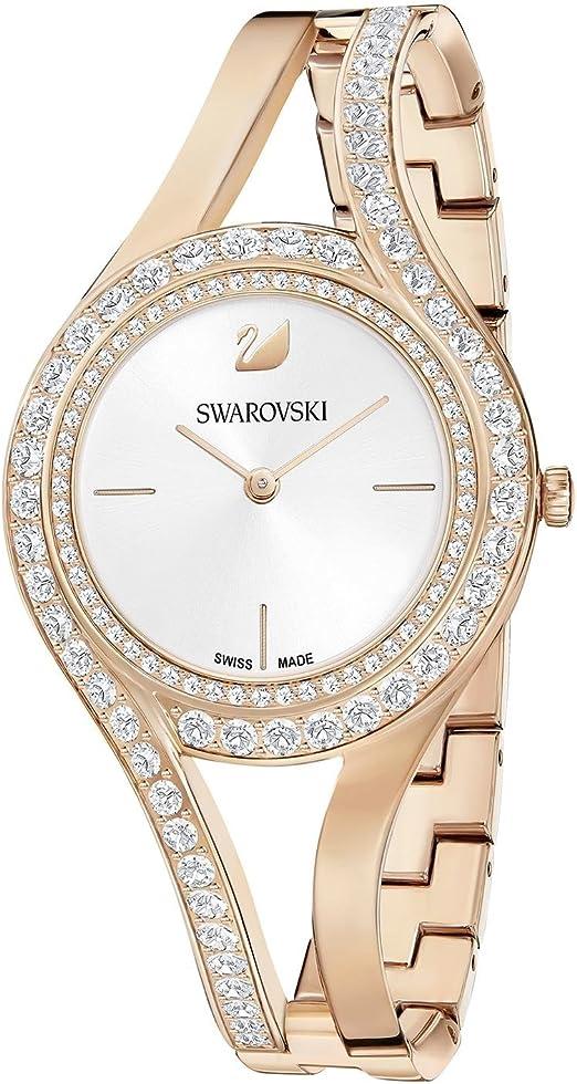 Montre femme Swarovski Eternal rosée: Amazon.fr: Montres