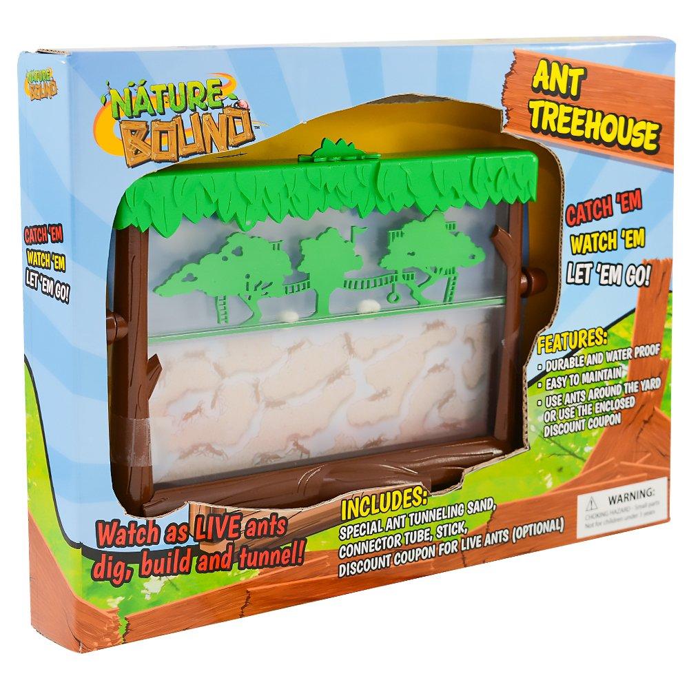 amazon com nature bound ant treehouse habitat kit with sand