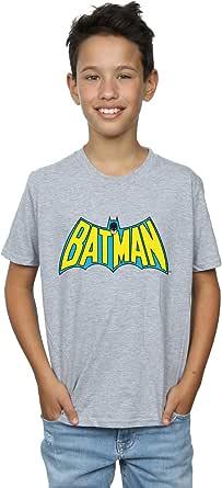 DC Comics Niños Batman Retro Logo Camiseta