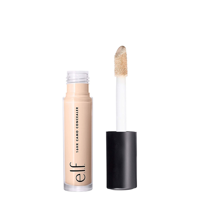 e.l.f. Cosmetics E.l.f. 16Hr Camo Concealer Full-coverage Formula, 0.203 Fl. Oz, Light Peach, 0.203 Fl Oz