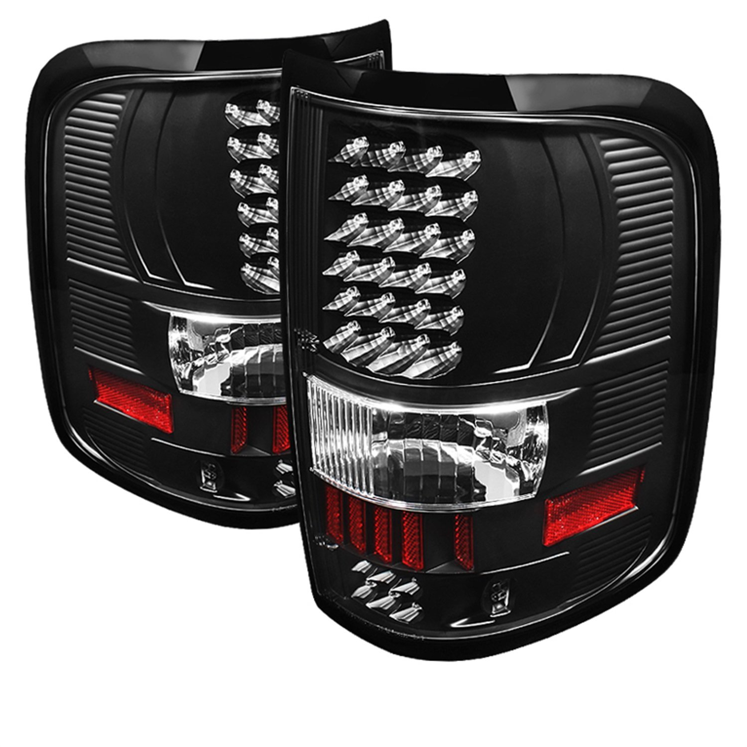 71FpZPH4KpL._SL1500_ amazon com spyder auto alt on ff15004 led bk ford f150 styleside 08 f150 tail light wiring diagram at creativeand.co