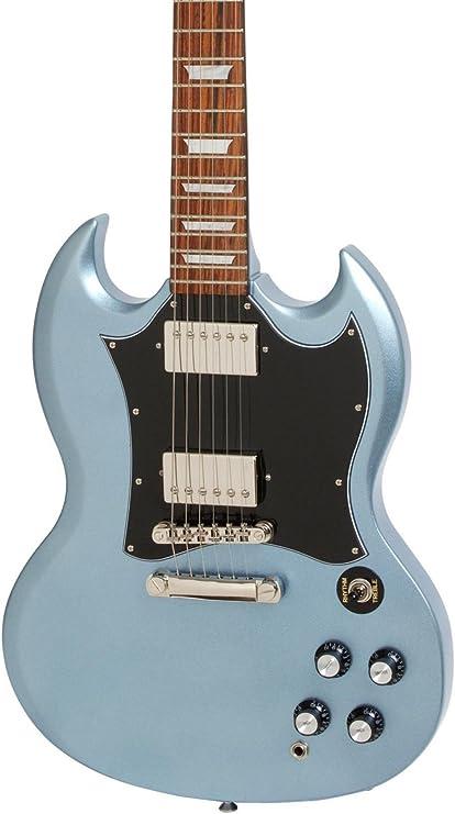 Edición limitada 1966 g-400 Pro Epiphone Guitarra eléctrica Pelham azul: Amazon.es: Instrumentos musicales