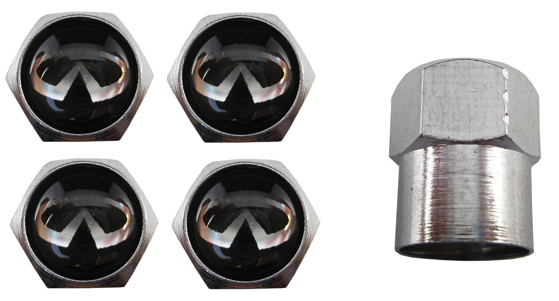 Bouchons de valve en acier inoxydable pour voitures