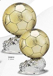 Trofeo Replica Balón de Oro Cristiano Ronaldo 24cm Resina Grabado ...
