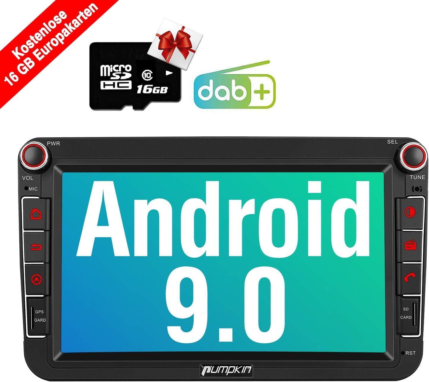 Pumpkin Android 9 0 Car Radio For Vw Radio With Gps Elektronik