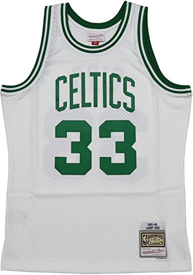 Mitchell & Ness Boston Celtics Larry Bird 1985 Home Swingman Jersey