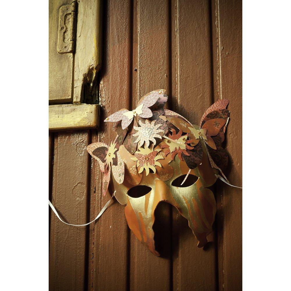 Artemio 2-Piece Butterfly Cardboard Masks to Decorate 14030013