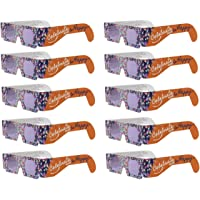 American Paper Optics Holiday Specs 3D Glasses- Look Through Glasses & See Smiley Faces, Snowmen, Snowflakes, Santa, Gingerbread Men, Candy Canes Reindeer Appear Before Your Eyes!