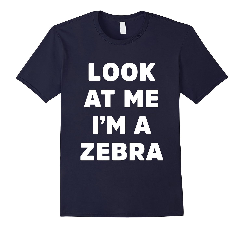 Zebra Costume Shirt for Halloween Kids Men Women-T-Shirt