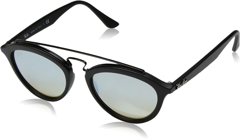 RAY-BAN 4257 Gafas de sol, Matte Black, 53 para Mujer