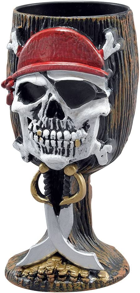 Pirate Goblet Pirates Of The Carribean Fancy Dress Pirate Party