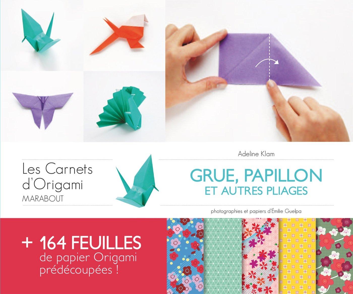 Carnet Origami Grue Papillon 9782501093637 Amazoncom Books