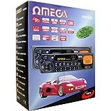 Omega 12070Autoradio avec lecteur cassette 4canaux de sortie affichage LCD Radio AM/FM