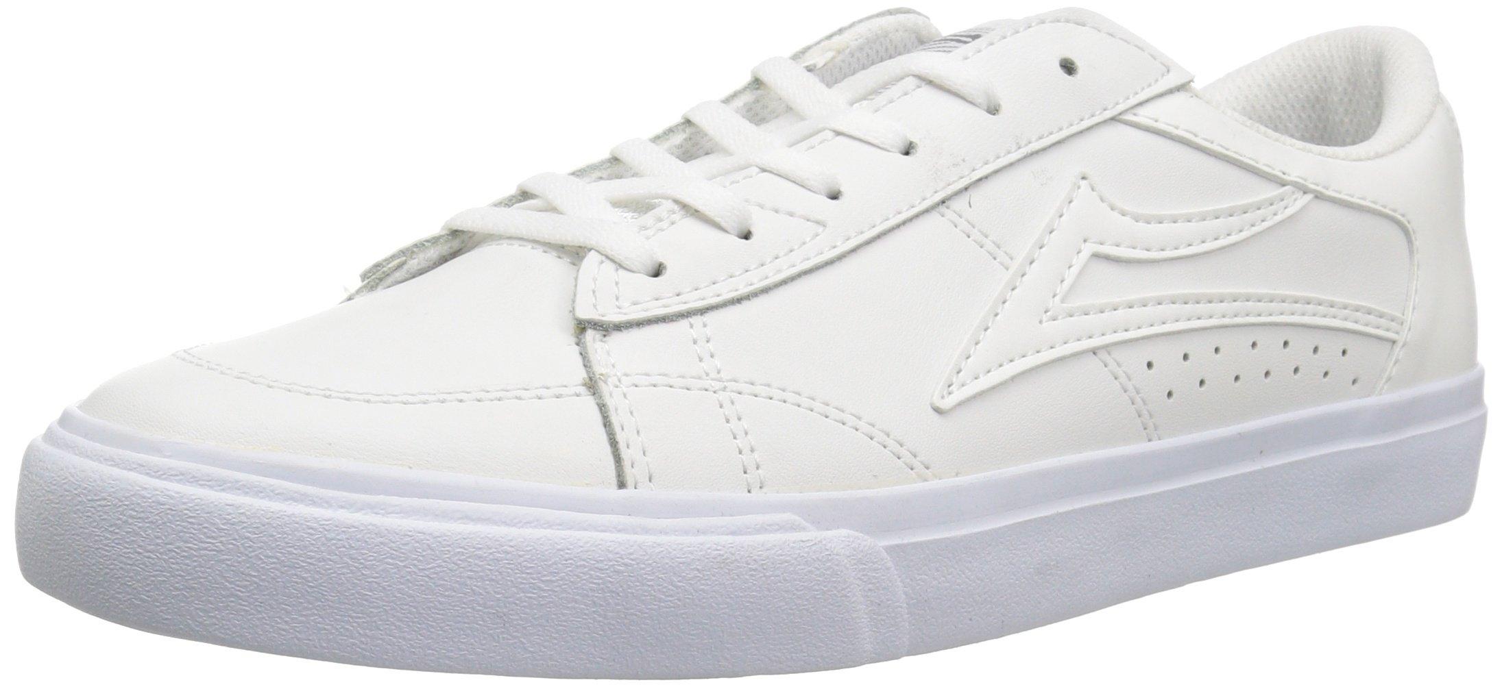 Lakai Ellis, White Leather, 13 Medium US