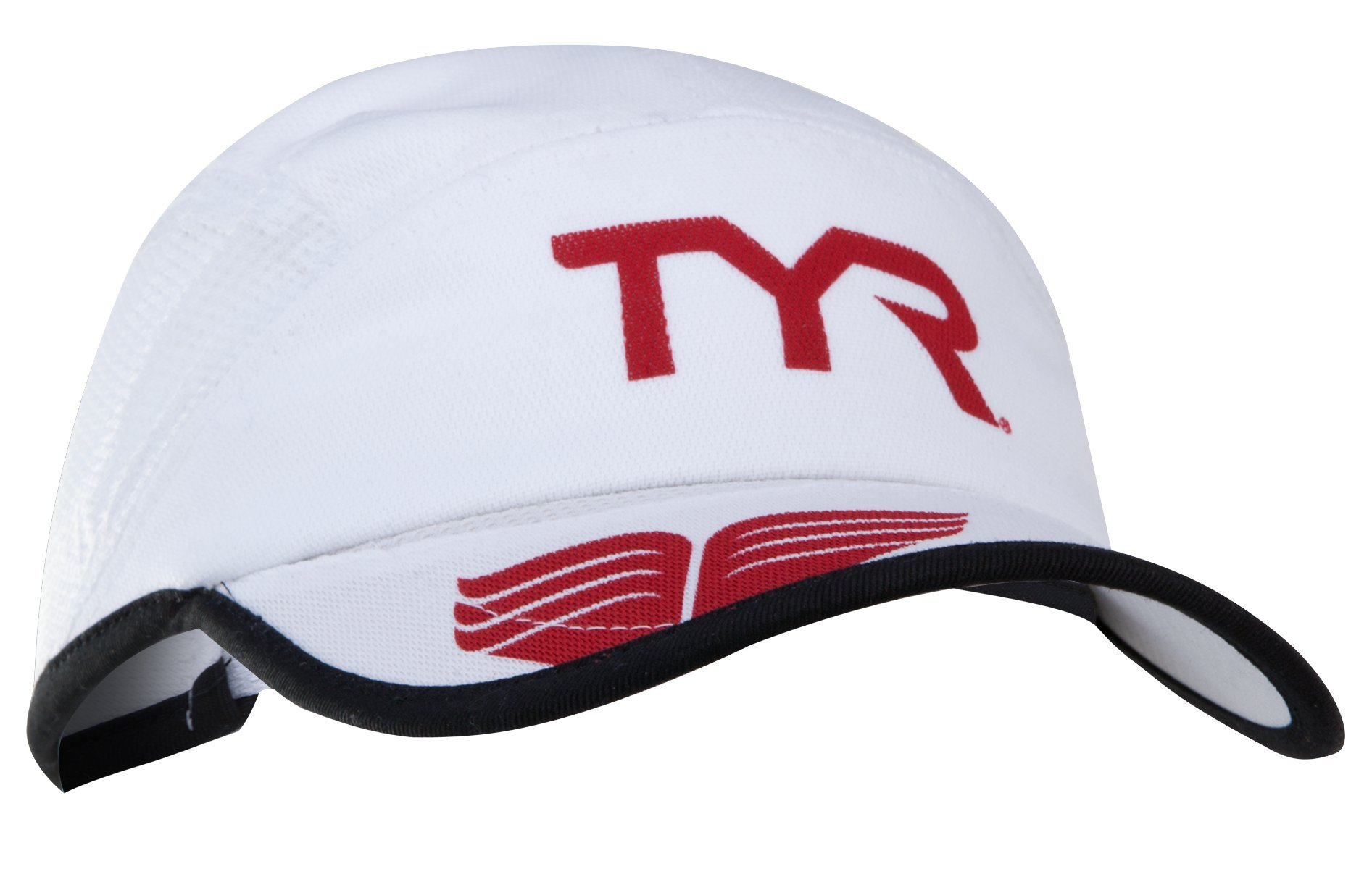 TYR Competitor Running Cap, White