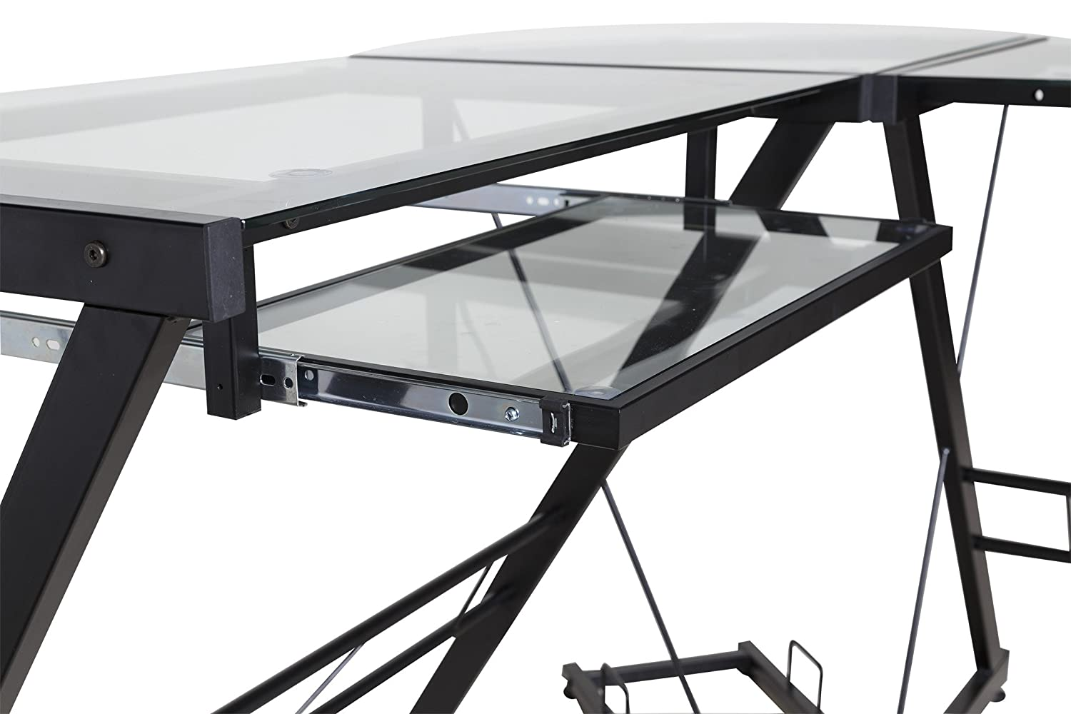 Z Line Desk Amazon Flash Furniture Clifton Black Computer