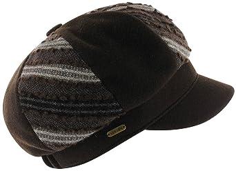 McBURN Berretto Newsboy Scutia cappelli cap Taglia unica - antracite:  Amazon.it: Abbigliamento
