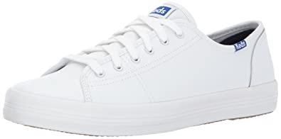 df2391bad0d73 Keds Women's Triple Kick Leather Glossy Fashion Sneaker
